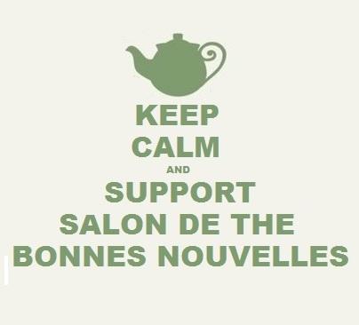 Soutenir la création du salon de thé bonnes novuelles